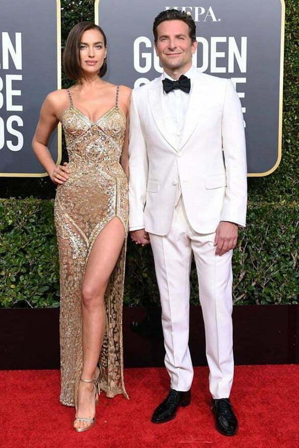 Bradley Cooper & Irina Shayk in Gucci