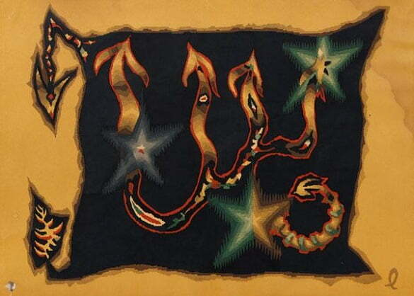 Jean Lurçat Seria zodiac Scorpion (litografie)