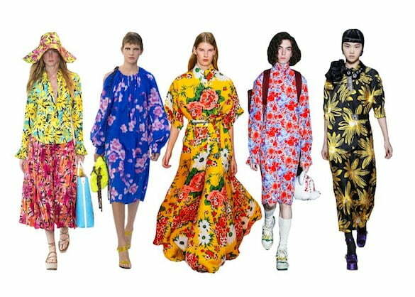 ugly_florals (L-R) Michael Kors, Dries Van Noten, Carolina Herrera, Gucci, Miu Miu